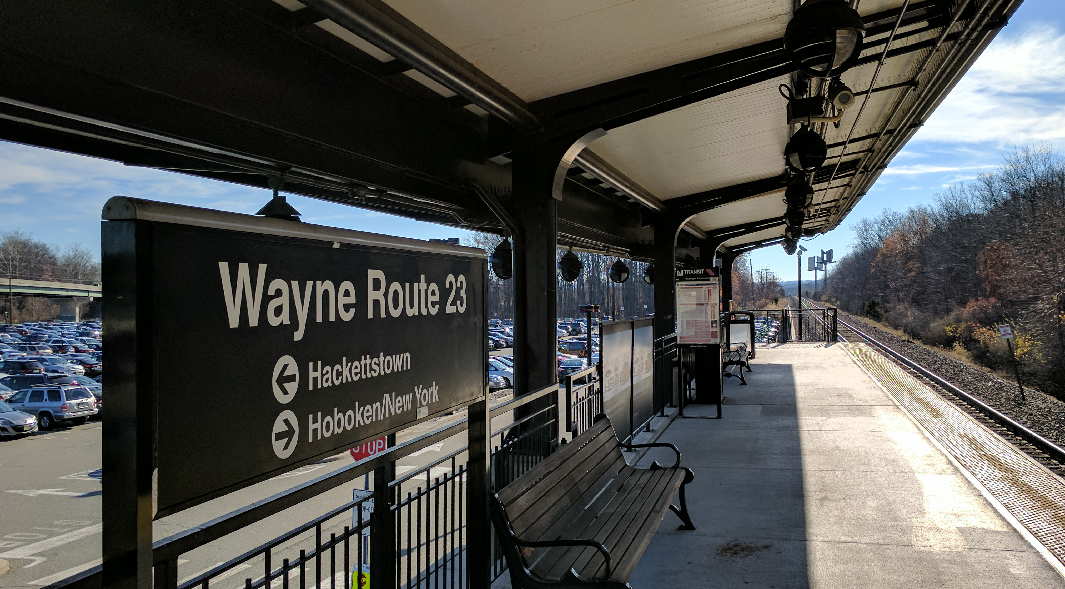 NJ Transit | Route 23 / Wayne Station Park & Ride