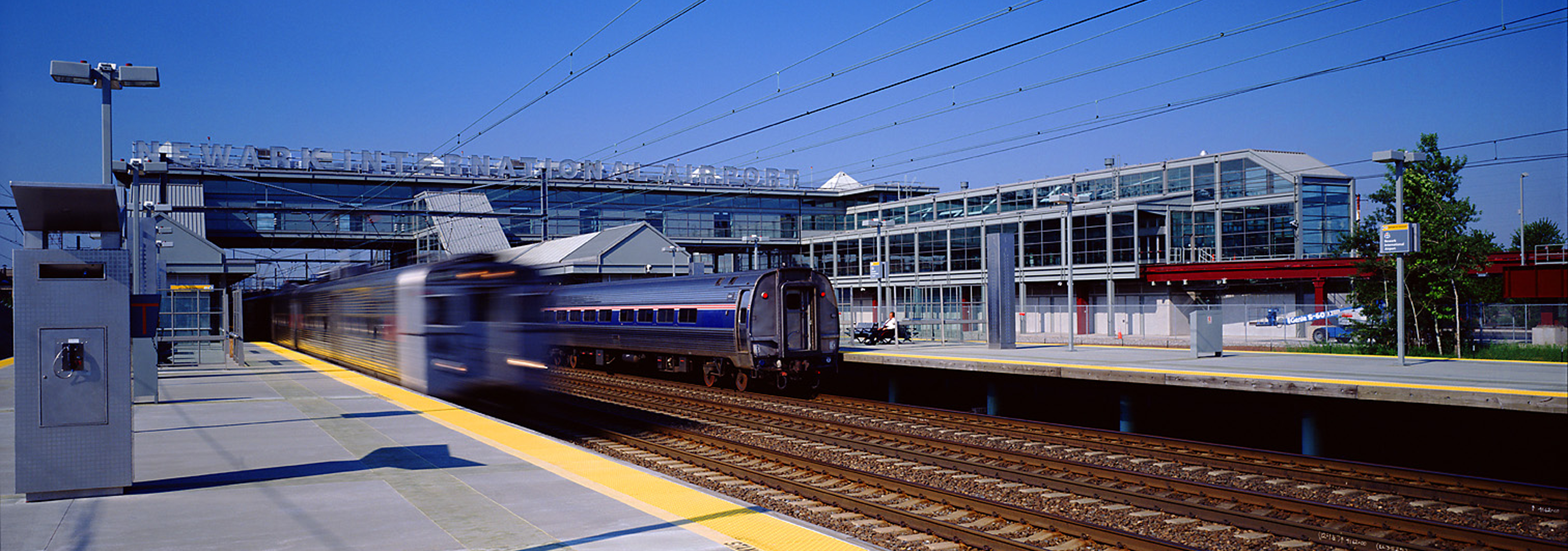 NJ Transit & PANYNJ | Liberty International Airport Rail Station