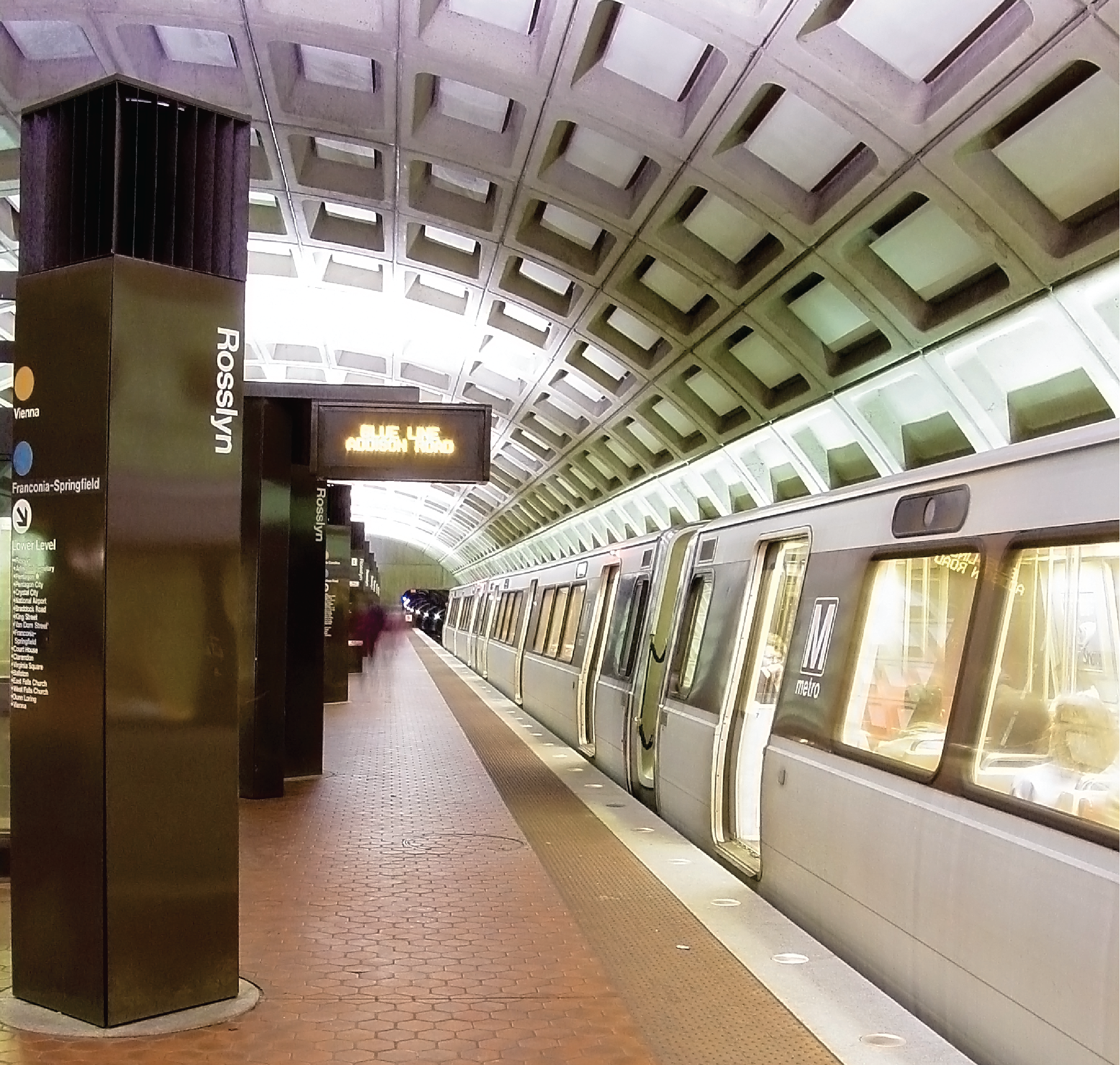 WMATA | Design-Build for Orange and Blue Line Rail System, Stadium Armory to National Airport