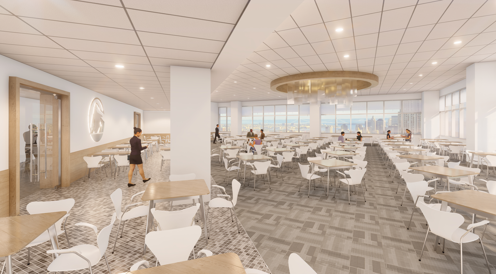 Prudential Financial | Gateway Center Dining Room
