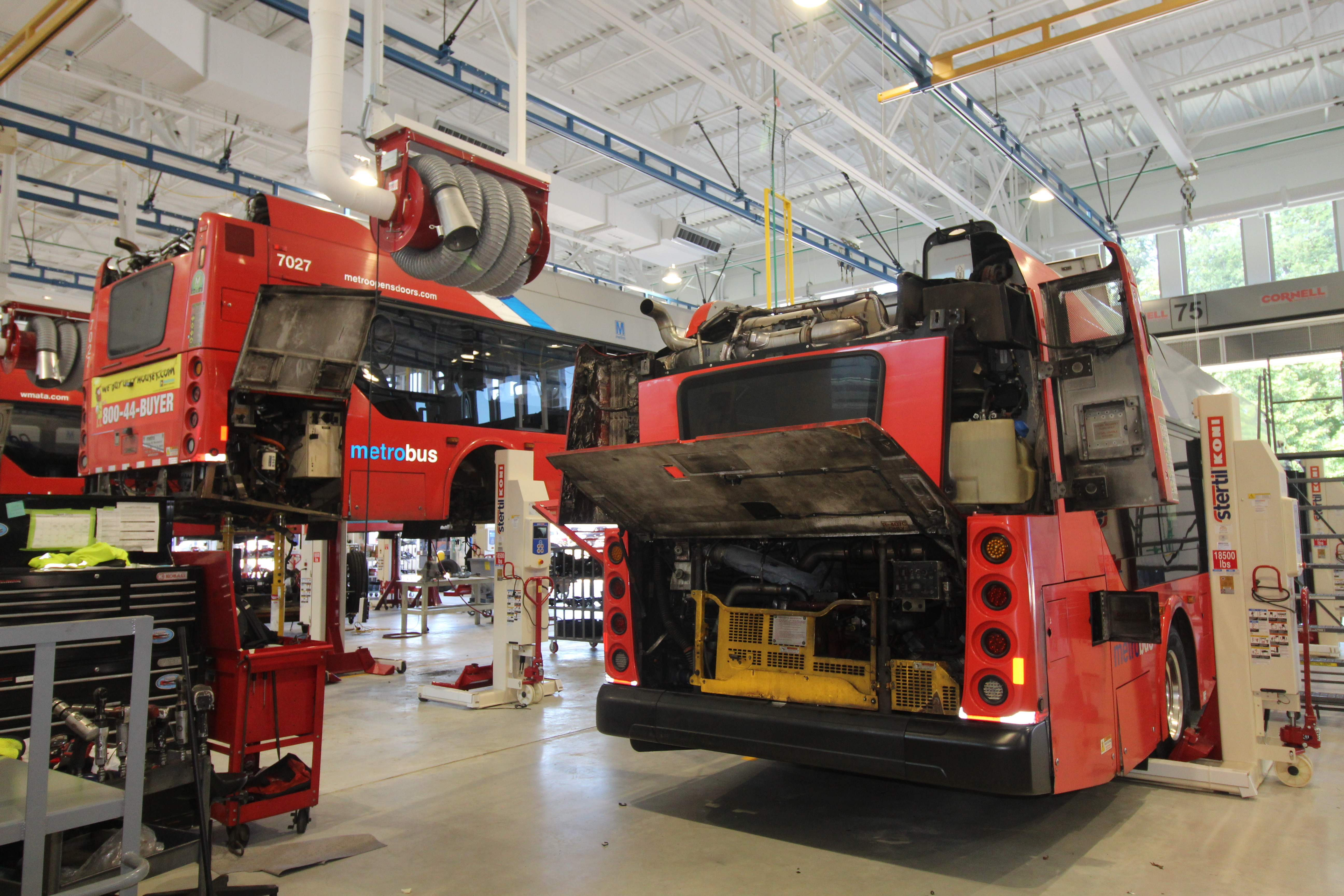 WMATA | Design-Build for Andrews Federal Center Bus Operations & Maintenance Facility